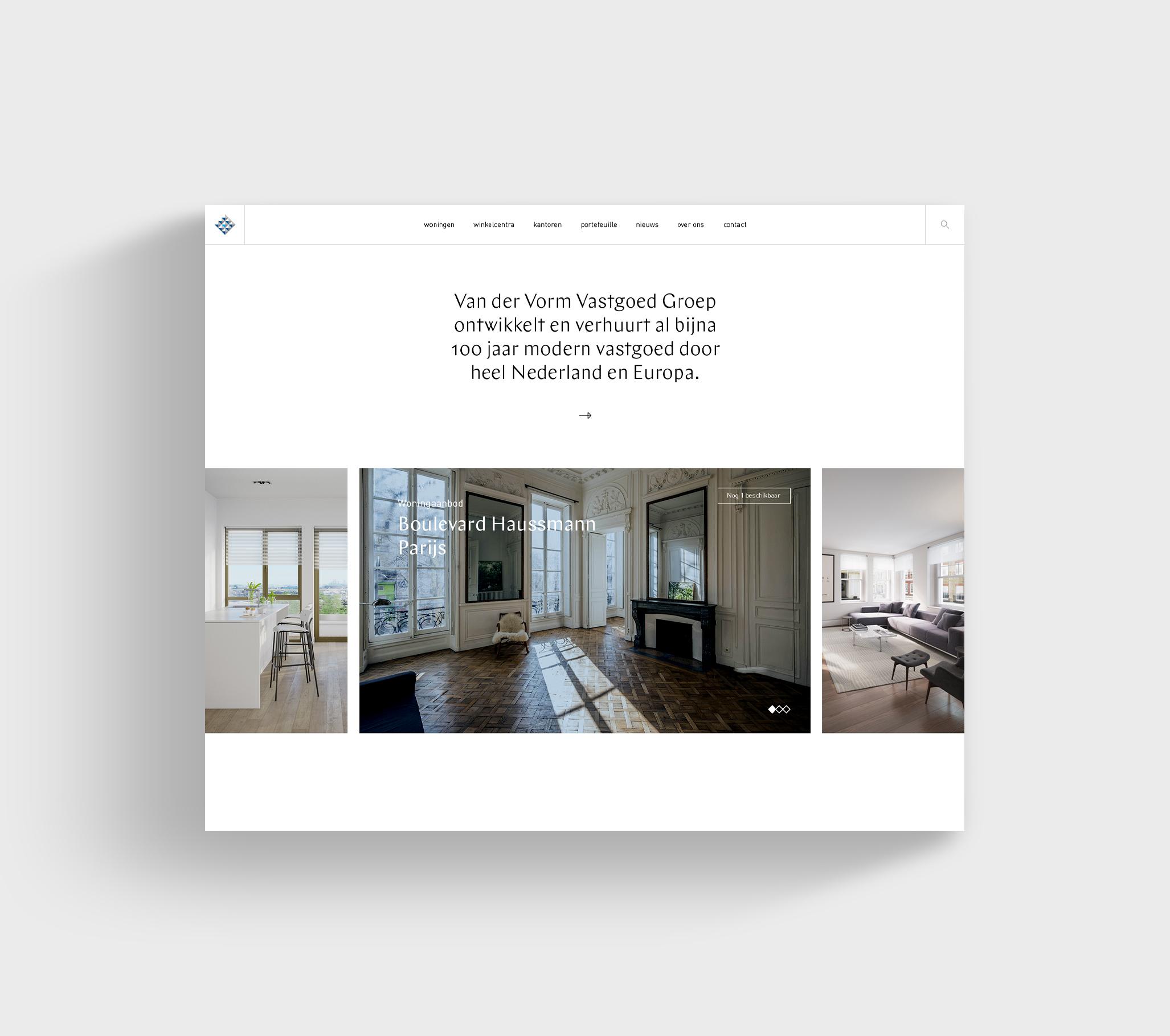Vorm-Web-layout
